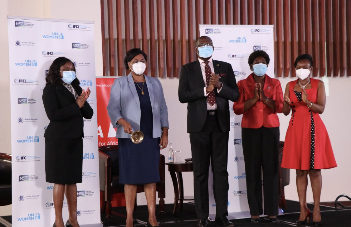 Global Compact Kenya, NSE ring the bell for gender equality